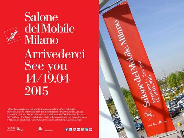Salone internazionale del mobile 14 19 aprile 2015 aatc for Salone di mobile milano